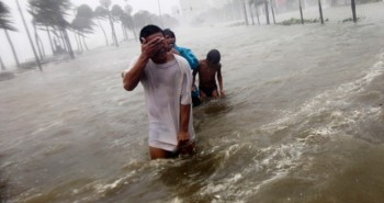 Typhoon Nesat wreaks havoc in the Philippines