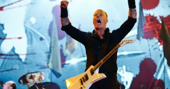 James Hetfield Metallica Glastonbury
