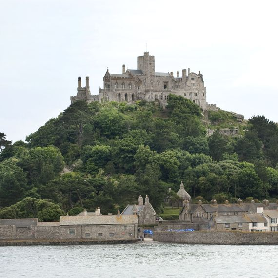 ST MICHAELS MOUNT, CORNWALL