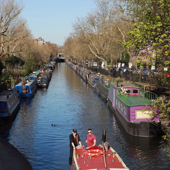 Little Venice Maida Vale i London