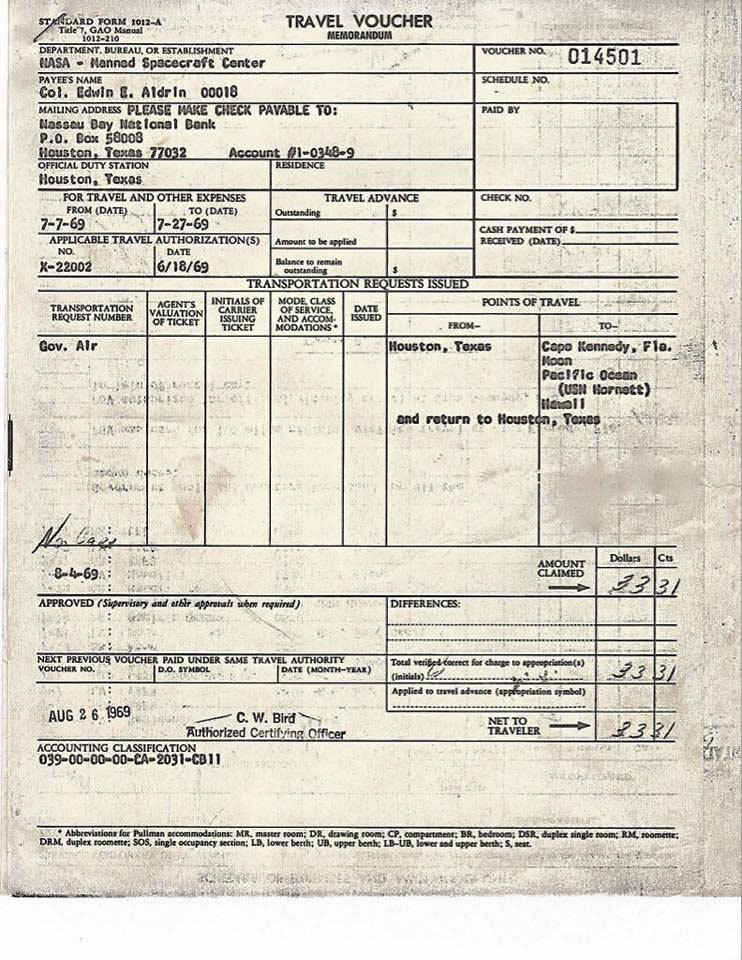 when-buzz-aldrin-returned-from-the-moon-he-had-to-fill-out-a-customs-form-1