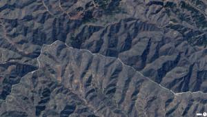 40.67693°N 117.23193°E: Den kinesiske mur
